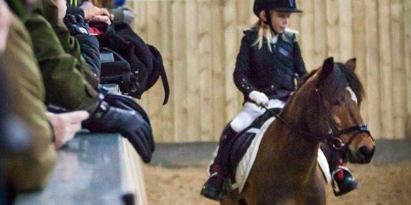 Julestævne i dressur for pony og hest (E-stævne)